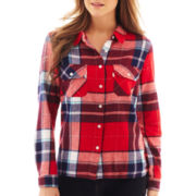 Levi's® Long-Sleeve Plaid Boyfriend Shirt