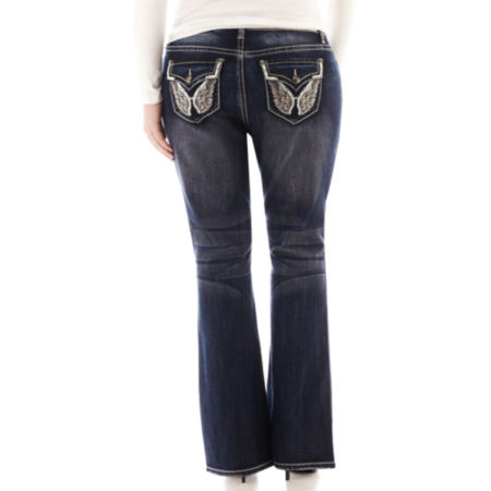 ZCO Boot Bling Jeans - Plus