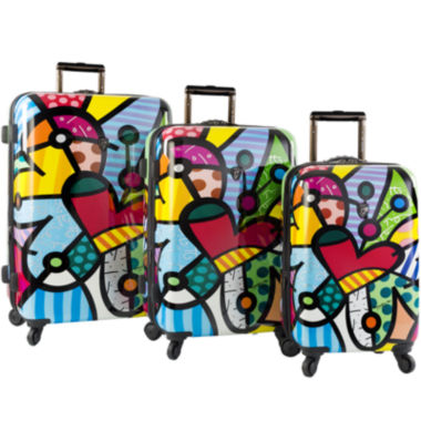 jcpenney.com | Heys® Britto Butterfly Love Hardside Spinner Upright Luggage Collection