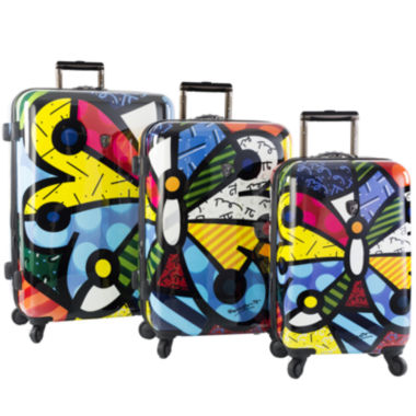 jcpenney.com | Heys® Britto Butterfly Hardside Spinner Upright Luggage Collection