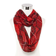 Mixit™ Holiday Plaid Infinity Scarf