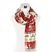 Mixit™ Christmas Holiday Oblong Scarf