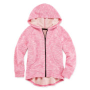 Okie Dokie® Full-Zip Hoodie - Preschool Girls 4-6x