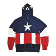 Marvel® Captain American™ Costume Fleece Hoodie