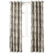 No. 918 Felicia Crushed Microfiber Grommet-Top Curtain Panel