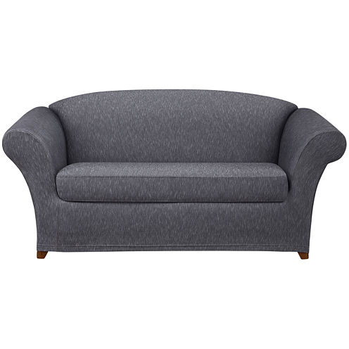 SURE FIT® Stretch Denim 2-pc. Loveseat Slipcover