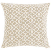 "SURE FIT® Stretch Ironwork 18"" Decorative Pillow"