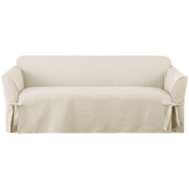 jcpenney.com | SURE FIT® Ticking Stripe 1-pc. Sofa Slipcover