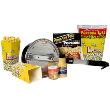jcpenney.com | Wabash Valley Farms™ Open-Fire Outdoor Popcorn™ Popcorn Party Set