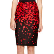 Alyx® Floral Pencil Skirt