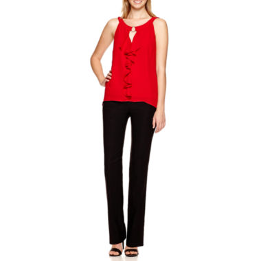 jcpenney.com | Alyx® Ruffle Top or Straight-Leg Millennium Pants