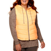 City Streets® Puffer Vest - Juniors Plus