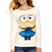 Long-Sleeve Minion Pullover Sweatshirt
