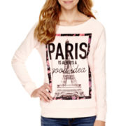 Cold Crush Long-Sleeve Paris Pullover Sweatshirt