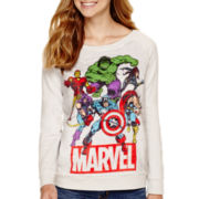 Long-Sleeve Marvel® Pullover Sweatshirt