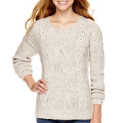 Arizona Long-Sleeve Chunky Pullover Sweater