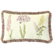 "Williamsburg Abigail 20"" Oblong Decorative Pillow"