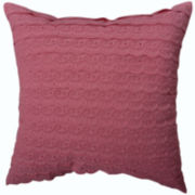 "Williamsburg Ariana 16"" Square Decorative Pillow"