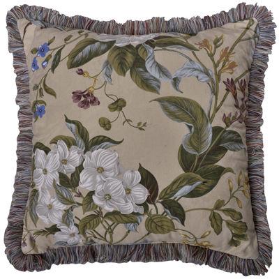 Williamsburg Garden Images Square Decorative Pillow