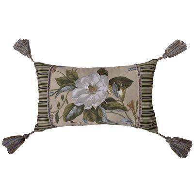 Williamsburg Garden Images Oblong Decorative Pillow
