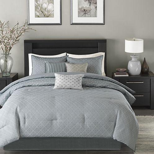 Madison Park Ventura 7-pc. Jacquard Comforter Set