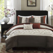 Madison Park Mandara 6-pc. Duvet Cover Set