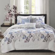 Madison Park Raven 6-pc. Duvet Cover Set