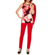 Worthington® One-Button Jacket, Embellished Blouse, or Slim-Fit Pants - Petite