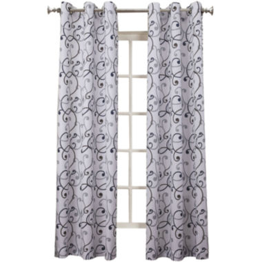 jcpenney.com | No. 918 Kelby Grommet-Top Curtain Panel