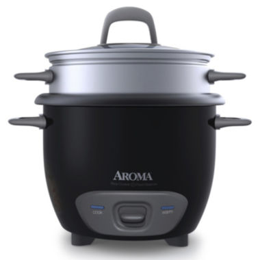 jcpenney.com | Aroma ARC-743-1NGB 6-Cup Pot Style Rice Cooker