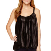 a.n.a® Pleated Tank Top - Tall
