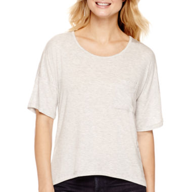jcpenney.com | a.n.a® Short-Sleeve Colorblock T-Shirt- Petite
