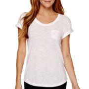 a.n.a® Short-Sleeve Boyfriend T-Shirt