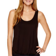 a.n.a® Bubble Tank Top- Petite