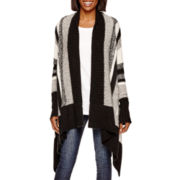 a.n.a® Long-Sleeve Textured Cardigan