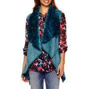 I 'Heart' Ronson® Faux-Fur Vest