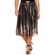 Worthington® Sparkle Midi Skirt - Plus