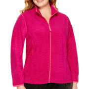 Made For Life™ Full-Zip Polar Fleece Jacket - Plus
