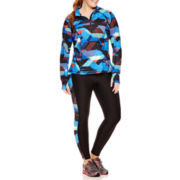 Xersion™ Half-Zip Pullover or Side-Panel Leggings - Plus