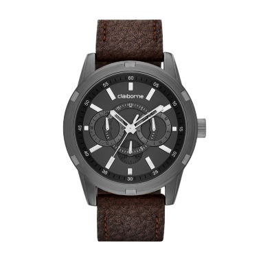 jcpenney.com | Claiborne® Mens Gunmetal Watch