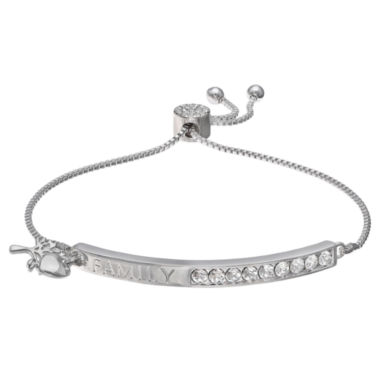 jcpenney.com | Sparkle Allure Womens White Crystal Stretch Bracelet