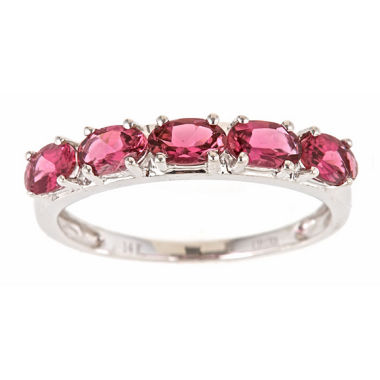 jcpenney.com | LIMITED QUANTITIES! Pink Tourmaline 14K Gold Band