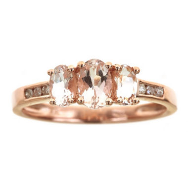 jcpenney.com | LIMITED QUANTITIES! 1/10 CT. T.W. Pink Morganite 14K Gold Cocktail Ring