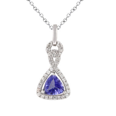 jcpenney.com | Womens Blue Tanzanite Sterling Silver Pendant Necklace