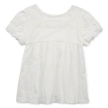 jcpenney.com | Arizona Short Sleeve Blouse - Preschool Girls