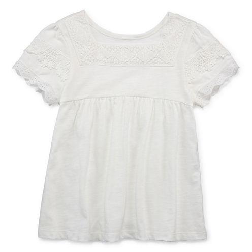 Arizona Short Sleeve Blouse - Preschool Girls