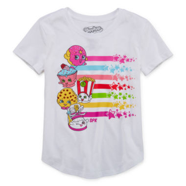 jcpenney.com | Shopkins Graphic T-Shirt-Big Kid Girls