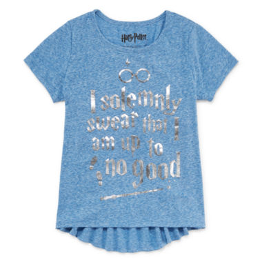 jcpenney.com | Girls Short Sleeve Harry Potter T-Shirt-Big Kid