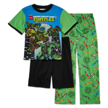 jcpenney.com | Teenage Mutant Ninja Turtles 3-pc. Pajama Set- Boys 4-12