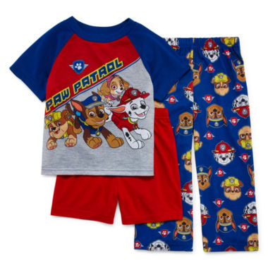 jcpenney.com | Paw Patrol 3-pc. Pajama Set- Toddler Boys 2t-4t